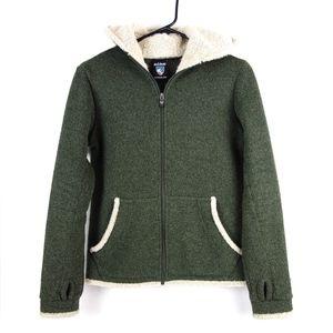 Kuhl Green Alfaca Full Zip Fleece Sz S (Womens)